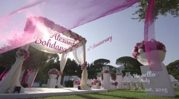 video matrimonio esclusivo costiera amalfitana realizzato da nitrato d'argento