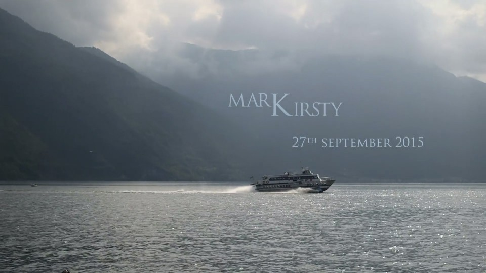 wedding video mark kirsty Nitrato d'Argento films
